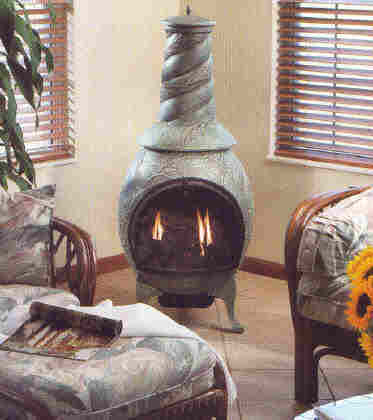 Chimenea From The Gaslogpro 2002